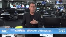 Mike's Minute: Farmers - speak up over water