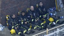 London fire: 'It's a very distressing time'