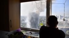 PHOTOS: Deadly blaze rips through London apartment building