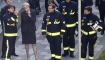 London fire: Theresa May faces criticism as death toll rises to 17