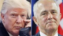 Leaked footage shows Malcolm Turnbull doing Trump impersonation