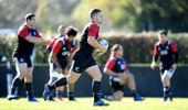 The Maori All Blacks training session at Puketawhero Park in Rotorua. (Getty)