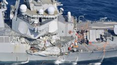 USS Fitzgerald sailors found dead on ship after collision