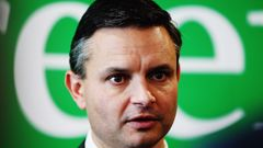 Greens co-leader James Shaw said they would aim to increase the quota to 4000 refugees a year, to be phased in over six years (Getty Images).