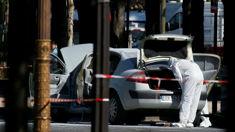 Catherine Field: Car rams police van in Paris, driver dead