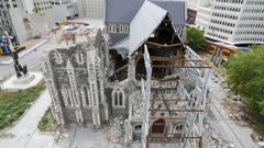 Bishop Victoria Matthews announced last month the synod would vote on whether to restore, or rebuild the earthquake-damaged building in September.