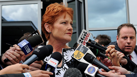 Hanson not apologising for autism comments