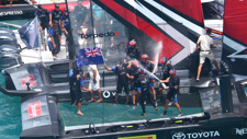 PHOTOS: Team New Zealand WIN the America's Cup