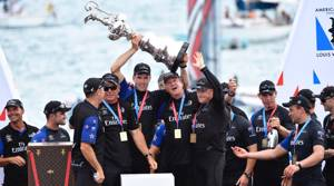 PHOTOS: New Zealand lift the America's Cup!