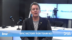 Mike's Minute: Epic victory for Team New Zealand