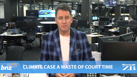 Mike's Minute: Climate case a waste of court time