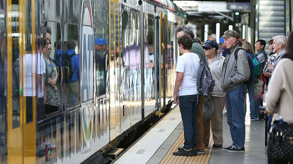 Auckland Transport plans to scrap 160 on-board train manager positions as part of major restructure of train services. (Photo / Getty Images)