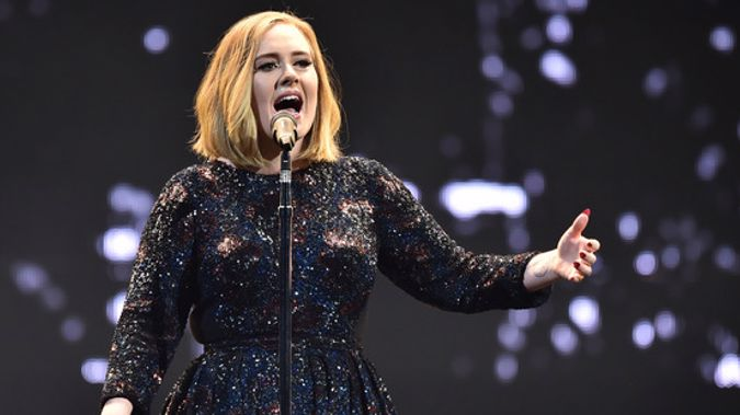 In a speech that mentioned her recent record-breaking tour in New Zealand, the pop star told British fans that her four-night stand at the stadium will end her touring days (Photo - NZ Herald)