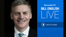 Prime Minister Bill English LIVE with Leighton Smith