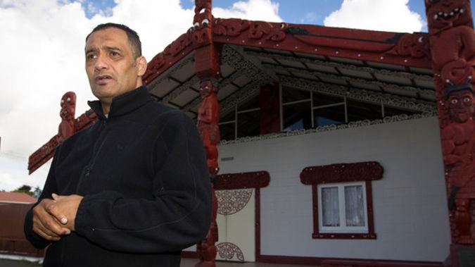 Te Puea Marae Chairman Hurimoana Dennis. (NZ Herald)