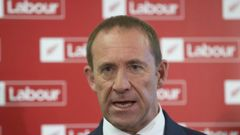 Labour leader Andrew Little spoke with Larry Williams. Photo / Mark Mitchell.