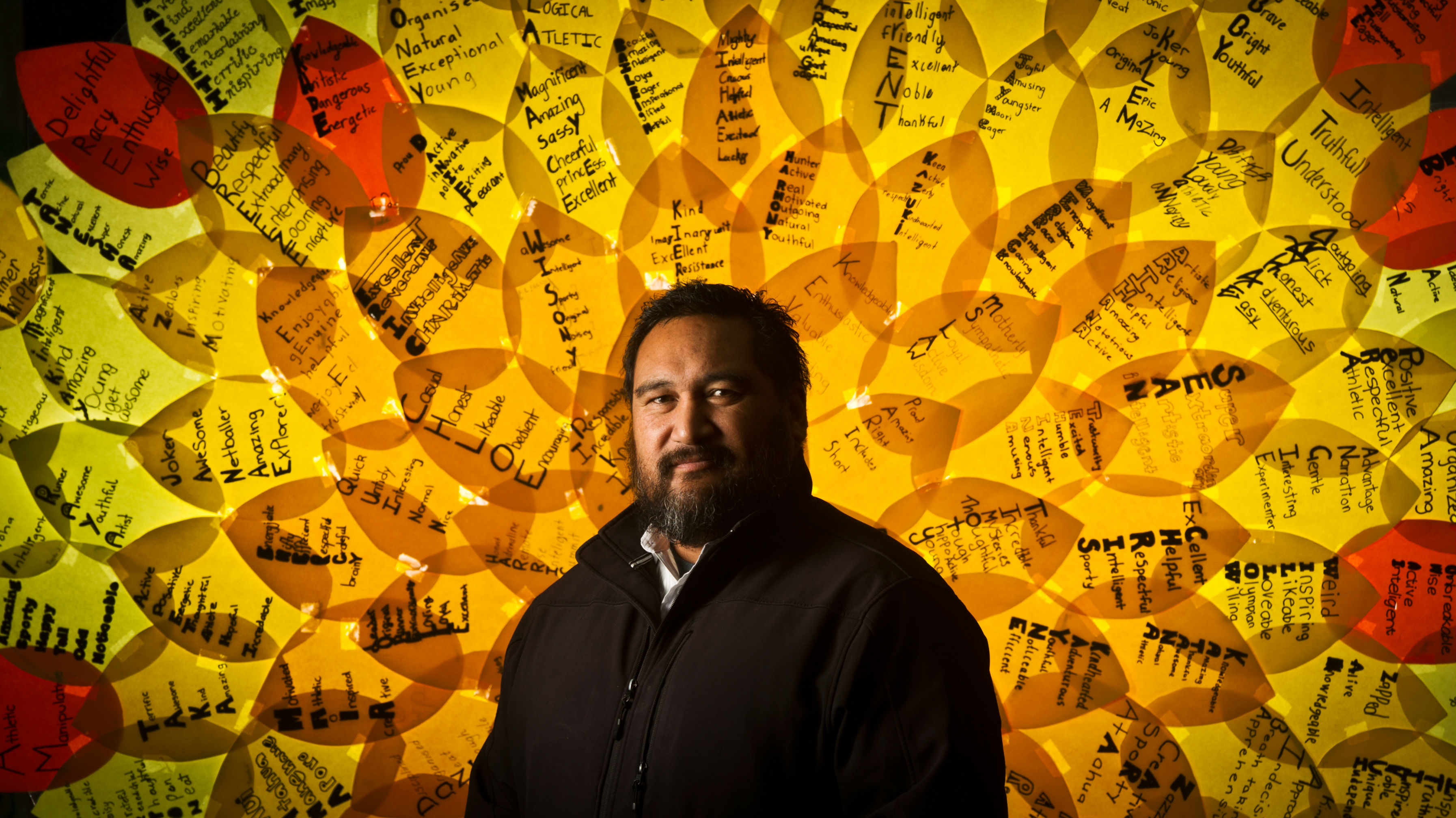 School counsellor Ben Teina-Kore Curtis. Photo/Stephen Parker