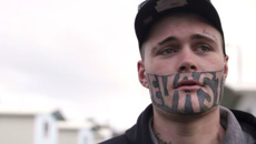 Andrew Dickens: Tattooed man is a drongo