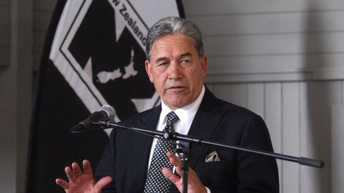 The leader of New Zealand First, Winston Peters. (NZ Herald)