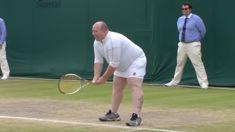 WATCH: Fan asked onto court to play Wimbledon women after shouting advice