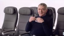 Famous faces audition for British Airways' safety video