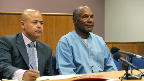 OJ Simpson released on parole