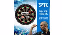 Win a VIP table at the Auckland Darts Masters