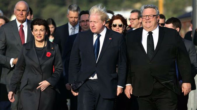 But in reality noise is all it's likely to be considering Britain's anti immigration and pro nationalist stance exemplified by Brexit. (Photo \ pool)
