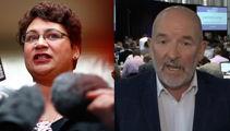 Metiria Turei v Barry Soper: Questioning turns into heated debate