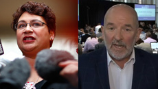 Metiria Turei v Barry Soper: Questioning turns into heated debate