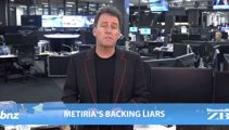 Mike's Minute: Metiria's backing liars