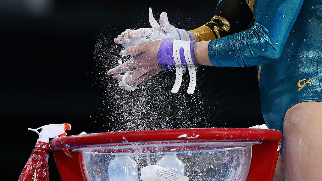 Larrissa Miller of Australia prepares to compete in the Women's Team Final & Individual Qualification. (Photo \ Getty Images)