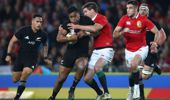 Julian Savea All Blacks tackled by Johnny Sexton (Image / Getty Images)