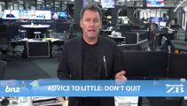 Mike's Minute: Advice to Little - don't quit