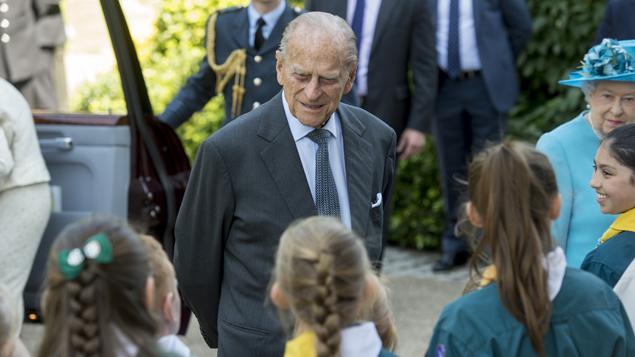 Britain's Queen Elizabeth II and Prince Philip Duke of Edinburgh 2017 getty.jpg