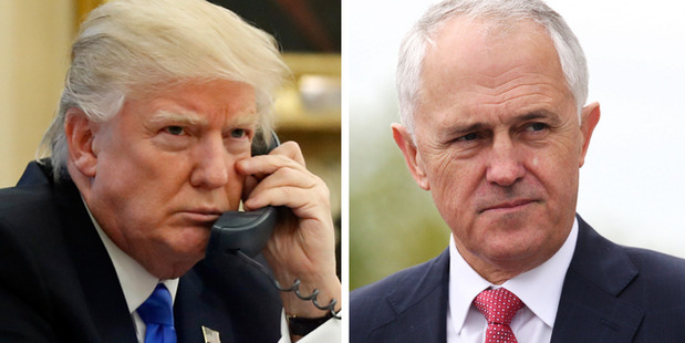 Trump said phone call with Turnbull was 'ridiculous'