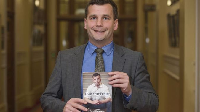 David Seymour has launched his 194-page manifesto titled Own Your Future. (NZ Herald)