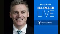Bill English live in studio with Mike Hosking