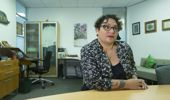 Green Party co-leader Metiria Turei in her office at Parliament, Wellington. 26 July 2017 New Zealand Herald Photograph by Mark Mitchell.