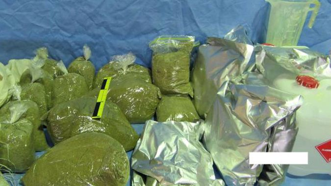 Synthetic cannabis haul (PHOTO - Supplied NZ Police)