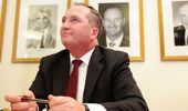 Barnaby Joyce has discovered he's a New Zealander by descent. (Photo \ Getty Images)