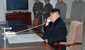 Kim Jong-un had been threatening to fire missiles towards the US territory of Guam, but has since dialled back on his rhetoric (Getty Images)