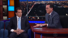 WATCH: Anthony Scaramucci, 'the Mooch', tells all to Stephen Colbert