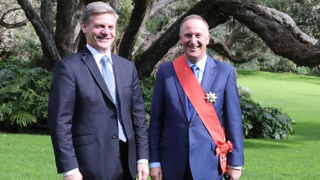 Mike Hosking: Sir John Key - so at peace with himself, he's almost horizontal