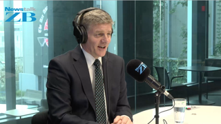 WATCH - Prime Minister Bill English joins Kerre McIvor and Mark Dye