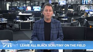 Mike's Minute: Leave All Black scrutiny on the field