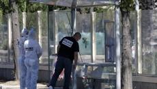 One dead as van rams bus stops in Marseille, France