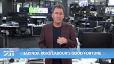 Mike's Minute: Jacinda risks Labour's good fortune