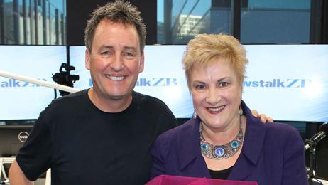 'I've loved this show': Annette King joins Mike Hosking, Steven Joyce for the last time