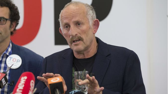 The Opportunities Party leader Gareth Morgan. 11 August 2017 New Zealand Herald photograph by Mark Mitchell.